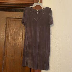 Gray Tshirt Dress